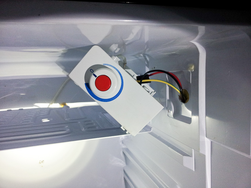 Modifying danby dcr412bls for homebrew ball lock kegs chl machine it just slid out towards the fridge door after that the freezer tray was freestanding cheapraybanclubmaster Images